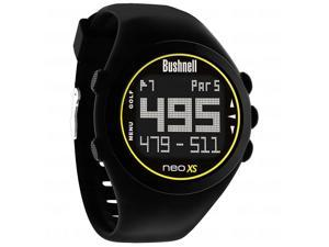 Bushnell Neo XS Black GPS Golf Rangefinder Watch 368550 Preloaded NeoX Neo-XS
