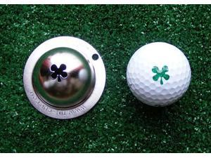 Tin Cup Luck of the Irish Golf Ball Custom Marker Alignment Tool
