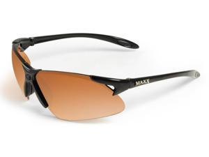Maxx Sunglasses Maxx 2 Black Frame HD Amber Lenses