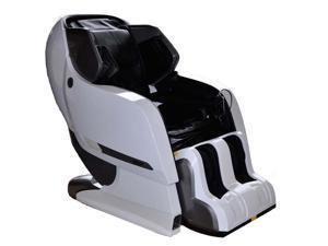 Infinity Iyashi White Black Zero-Gravity Massage Chair Infinite