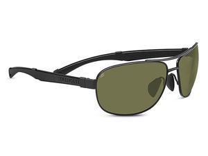 Serengeti Eyewear Sunglasses Norcia 7971 Satin Black/Black Polar 555nm Lens