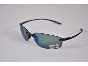 Serengeti Eyewear Sunglasses Nuvino 8270 Shiny Black Polar PhD 555nm Blue Mirror