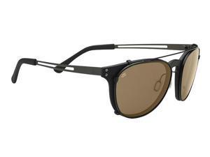 Serengeti Eyewear Sunglasses Palmiro 8052 Satin Black Polarized PhD Drivers Lens