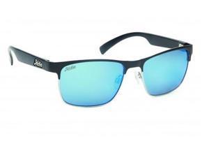 Hobie Eyewear La Jolla Sunglasses 019268 Stn Black/Silver Polarized Mirror Lens