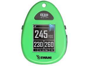 Izzo Golf Swami Sport Green GPS Rangefinder Preloaded 30,000 Courses Preloaded
