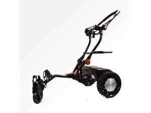 2015 FTR Caddytrek R2 Black Robotic Electric Golf Cart Caddy Trek