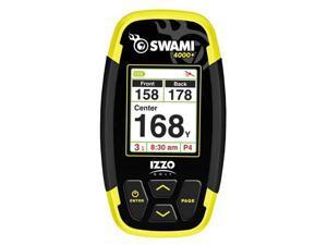 Izzo Golf Swami 4000+ Blk/Yellow GPS Rangefinder 30,000 Courses Preloaded