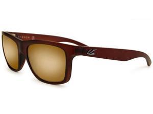 Kaenon Men's Clarke Gold Coast Frame Brown Polarized W/Case 028-17-B12M