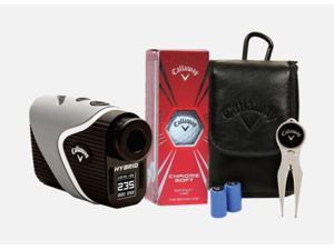 Callaway Hybrid Silver Laser GPS Golf Rangefinder Power Pack
