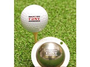 Tin Cup Official FDNY Golf Ball Custom Marker Alignment Tool