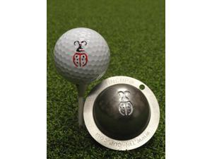Tin Cup Lady Luck Golf Ball Custom Marker Alignment Tool