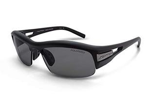 Switch Cortina Matte Black Polarized & Mirrored Interchangeable Sunglasses