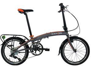 """Dahon Qix D8 20"""" Smoke Folding Bike Bicycle"""