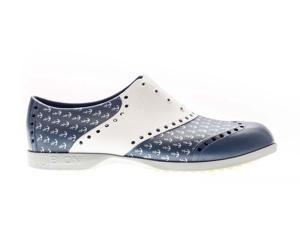 Biion Unisex Oxford Patterns Mens 3 Womens 5 Anchor Golf Shoes