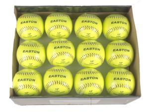 "Case w/ Quantity of 24 Easton 2014 Soft Training 12"" Neon Soft Trng Sb A122116BX"