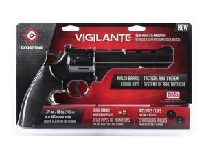 Crosman CCP8B2 Vigilante 3576W CO2 .177-Caliber Pellet and BB Revolver CCP8B2