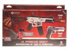 Crosman Elite AREKTC Spring Powered Air Soft Rifle/Air Soft Pistol Kit Clear