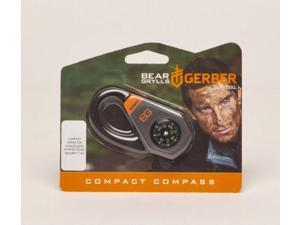 Gerber Bear Grylls Compact Survival Compass With Zipper Pull- 001777