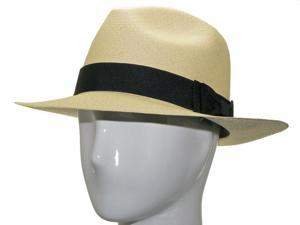 CARTER FEDORA Panama Hat Natural Straw Stylish 7