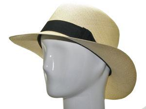 ENGLISH OPTIMO Panama Hat Natural Straw Classic 7 3/8