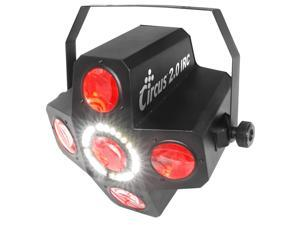 Chauvet DJ Indoor Remote Control LED Special Effects Lighting CIRCUS20IRC