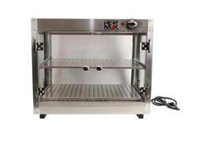 Heatmax Commercial Counter top Food Warmer Display Case With Water Tray 24x15x20