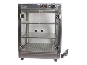 HeatMax Commercial 18x18x24 Countertop  Food Pizza Pastry Warmer Display Case