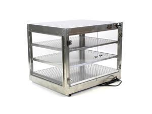 HeatMax Commercial Countertop Food Warmer With Water Tray 30x24x24 Display Case
