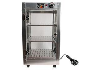 HeatMax Commercial 14 x 14 x 24 Countertop Food Pizza Pastry Warmer Display Case