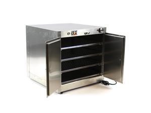 HeatMax Commercial Countertop Hot Box Warmer Food Pastry 24 x 24 x 24 Display