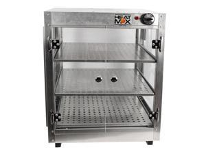 HeatMax Commercial  20x20x24 Countertop Food Pizza Pastry Warmer  Display Case