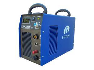 Lotos 110VAC/220VAC Dual Voltage 70 Amp Plasma Cutter with Pilot Arc LTP7000
