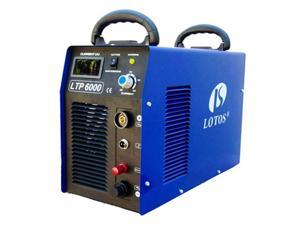 Lotos 110VAC/220VAC Dual Voltage 60 Amp Plasma Cutter with Pilot Arc LTP6000