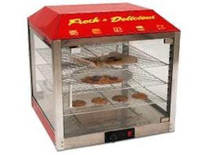 "Benchmark USA 2 Door Food Warmer Merchandiser 120V 450W 23"" x 23"" x 25.5"" 51048"