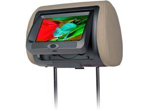 """Concept Cld-700X 7"""" Chameleon Headrest Digital Led Panel With Built-In Dvd Player & Color Covers"""