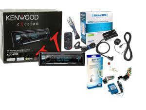 Kenwood KDCX898 w/ SXV200V1 SiriusXM Tuner Antenna SWI-RC Steering Wheel Conrol