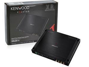 Kenwood Excelon XR400-4 XR4004 4 Channel Car Amplifier 200W Amp XR4004B