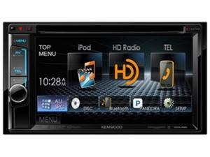 Kenwood DDX492 6.2 inch WVGA Double-DIN DVD Receiver with Bluetooth and HD Radio
