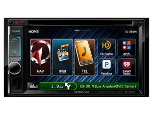 "Kenwood DNX692 6.2"" 2-Din AV Navigation System With Bluetooth/HD Radio"