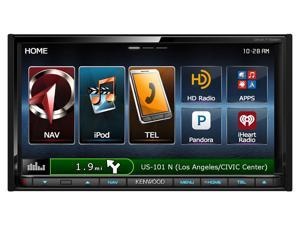 Kenwood Double Din DNX772BH Audio Video Navigation system with Bluetooth and HD Radio