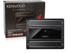 KENWOOD X500-1 MONOBLOCK CAR AMPLIFIER 500W MAX POWER OUTPUT X5001 X5001B