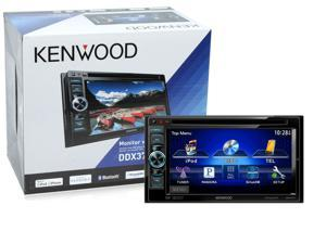 "Kenwood DDX371 6.1"" DVD CD Double Din Car Receiver w/ Built in Bluetooth DDX371B"