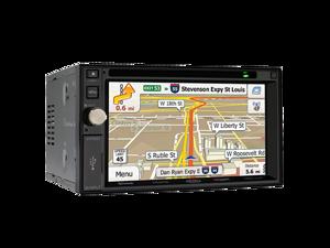 """Jensen VX7020 Car Navigation DVD CD Receiver with 6.2"""" Touchscreen"""