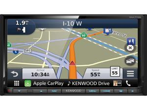 Kenwood DNX773S Navigation Receiver with Built in Bluetooth and HD Radio, Apple CarPlay and Android Auto Compatible.