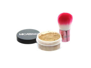 Mica Beauty Kabuki Foundation Kit