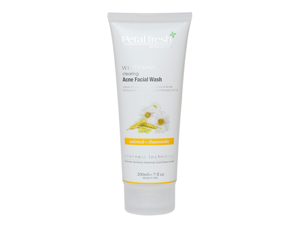 Petal Fresh Botanicals Whitening Oatmeal & Chamomile Clearing Acne Facial Wash