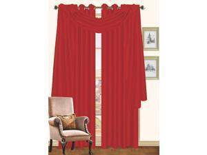 Holly Faux Silk Window Scarf 55 x 216