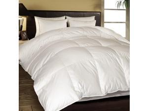 1000 TC Egyptian Cotton Cover European White Down Comforter