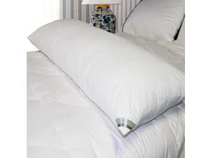 Kathy Ireland 233 TC Down Alternative Cotton Body Pillow White