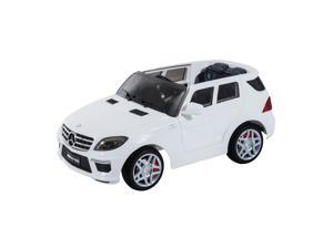 Mercedes Benz ML63 12V Kids Electric Ride On Car with MP3 and Remote Control - White